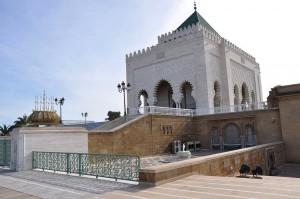 visiter Rabat en une journée - Mausolée Mohammed V - librevoyageur