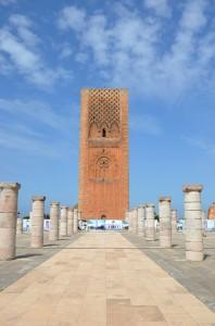 visiter rabat en une journée - Tour Hassan - librevoyageur
