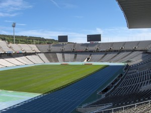 Barcelone autrement - Stade olympique - librevoyageur