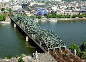 Pont de Hohenzollern - Cologne