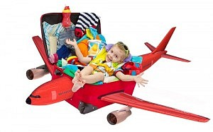 bebe dans valise