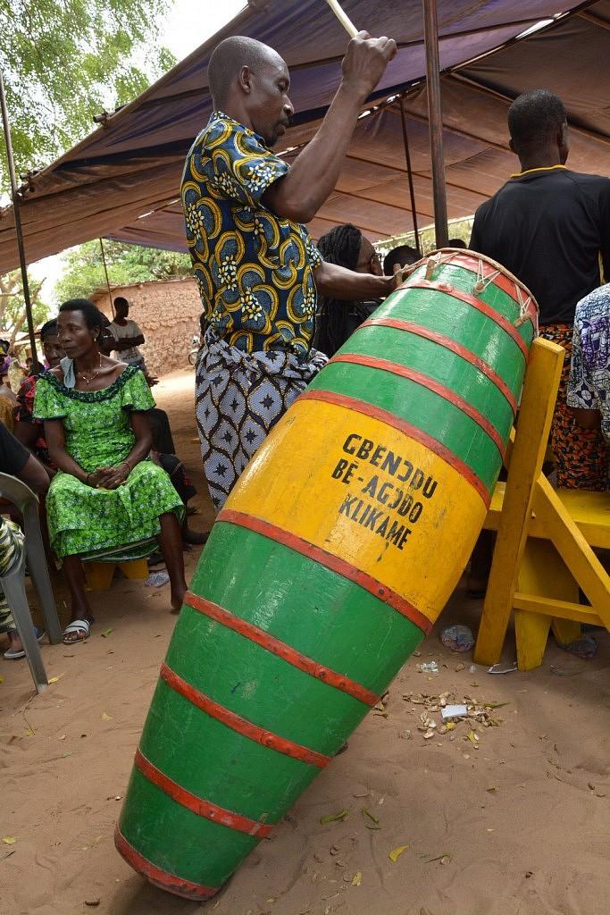Atsimevu - Percussions tam-tam Ewe togo