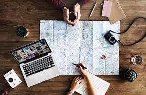 Planifier voyage à deux