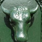 Turin - fontaine taureau