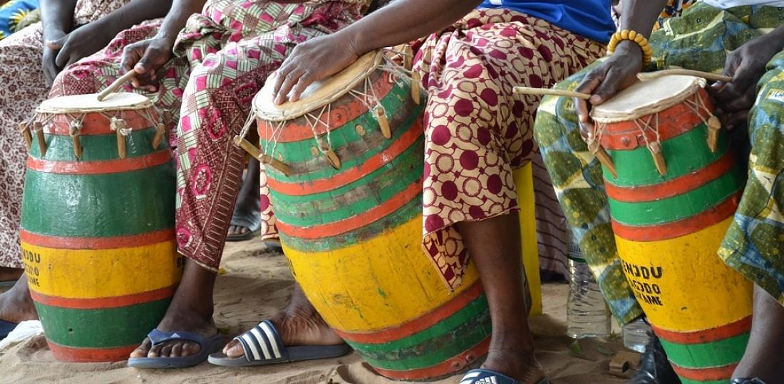 percussions tamtam ewe Togo