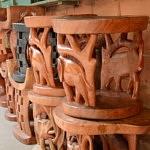 Sculpture village artisanal Cotonou Que faire au Bénin