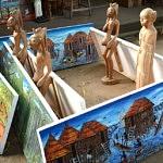 Tableau village artisanal Cotonou - Que faire au Bénin