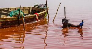 Lac rose Sénégal - Blog Hors-Frontières