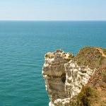 vue des falaises etretat - libre voyageur