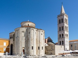 Visiter Zadar - Eglise Saint Donat - librevoyageur