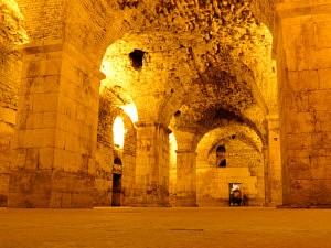 visiter zadar - Palais de Dioclétien - librevoyageur