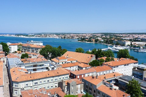 visiter zadar - panorama - librevoyageur