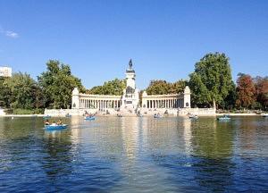 capitale espagnole - que voir - Parc du Retiro