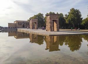 visiter madrid - temple de debod