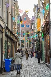 ruelle Vrijdagmarkt - visiter Gand - librevoyageur