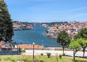 que voir a porto - Jardim do Morro Douro