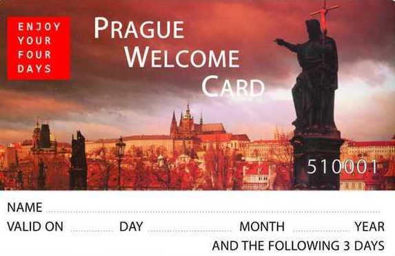 prague card - prague welcome card - librevoyageur