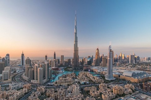 tour de dubai - burj khalifa