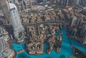 visite de la tour de Dubaï - Burj Khalifa - at the top - librevoyageur
