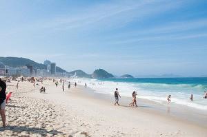 visiter rio de janeiro - que faire Plage de Copacabana