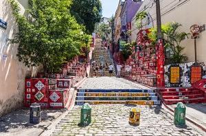 que voir escalier Selarón