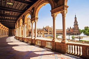 visiter seville - place d'Espagne