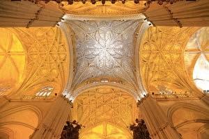 Cathédrale de Séville - plafond - réservation - visite - librevoyageur