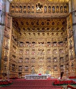 Cathédrale de Séville - rétable - réservation - visite - librevoyageur
