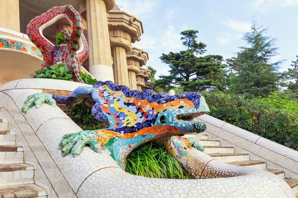 parc guell - barcelone - librevoyageur