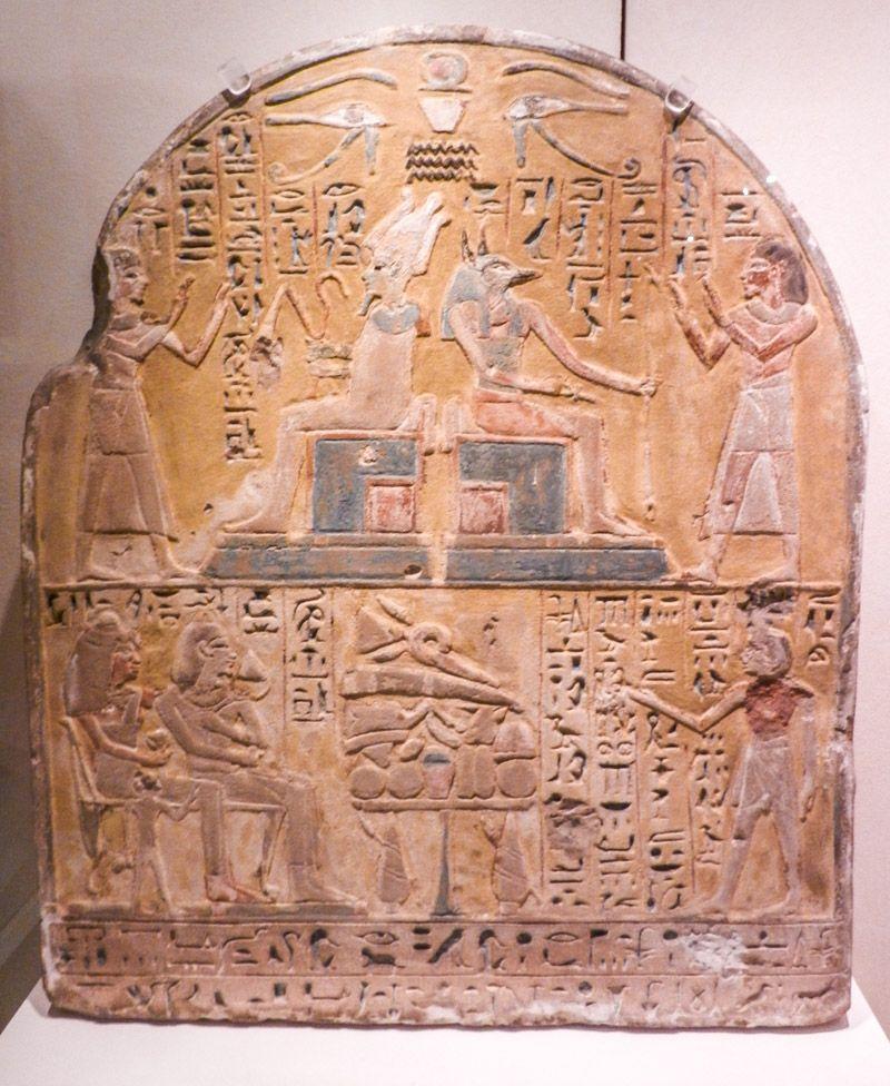 visite musée égyptien de Turin - tablette - librevoyageur