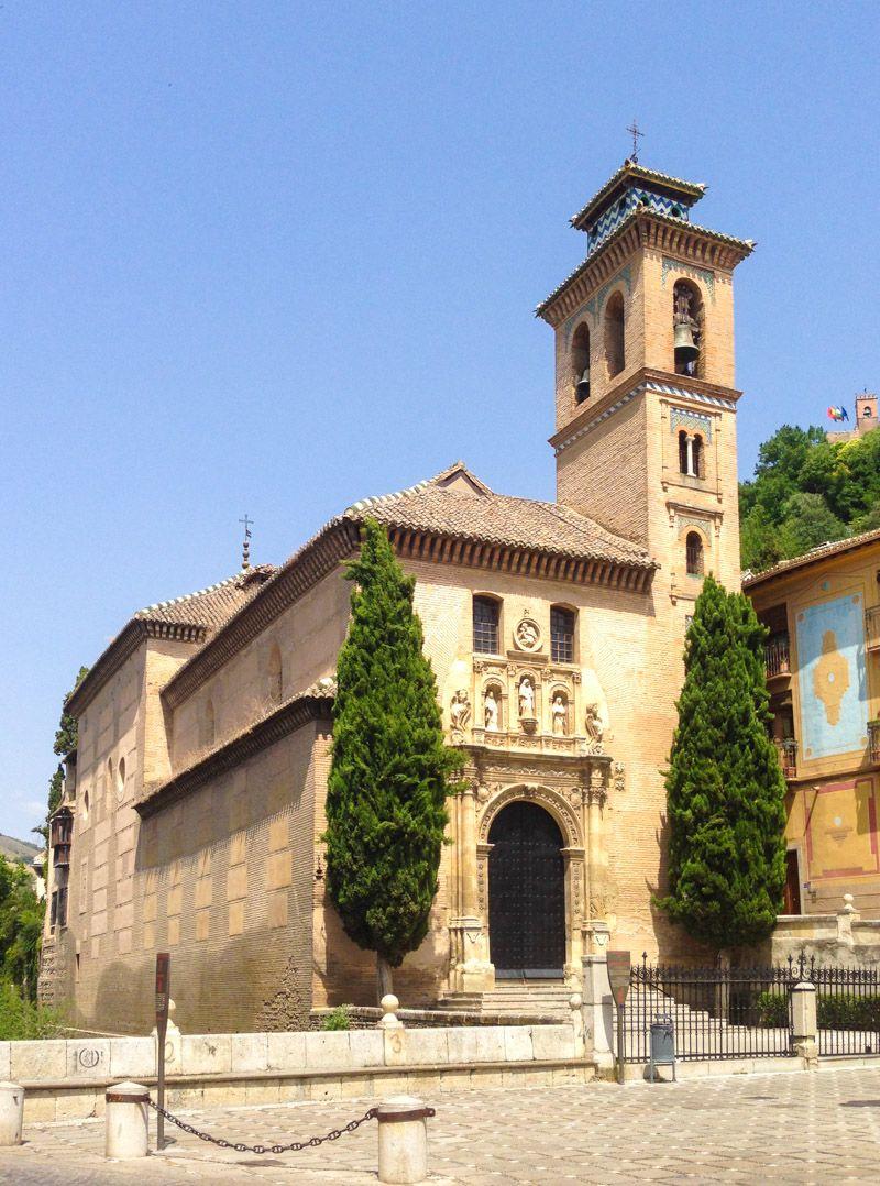 que faire a grenade - Eglise San Gil Y Santa Ana - grenade - librevoyageur