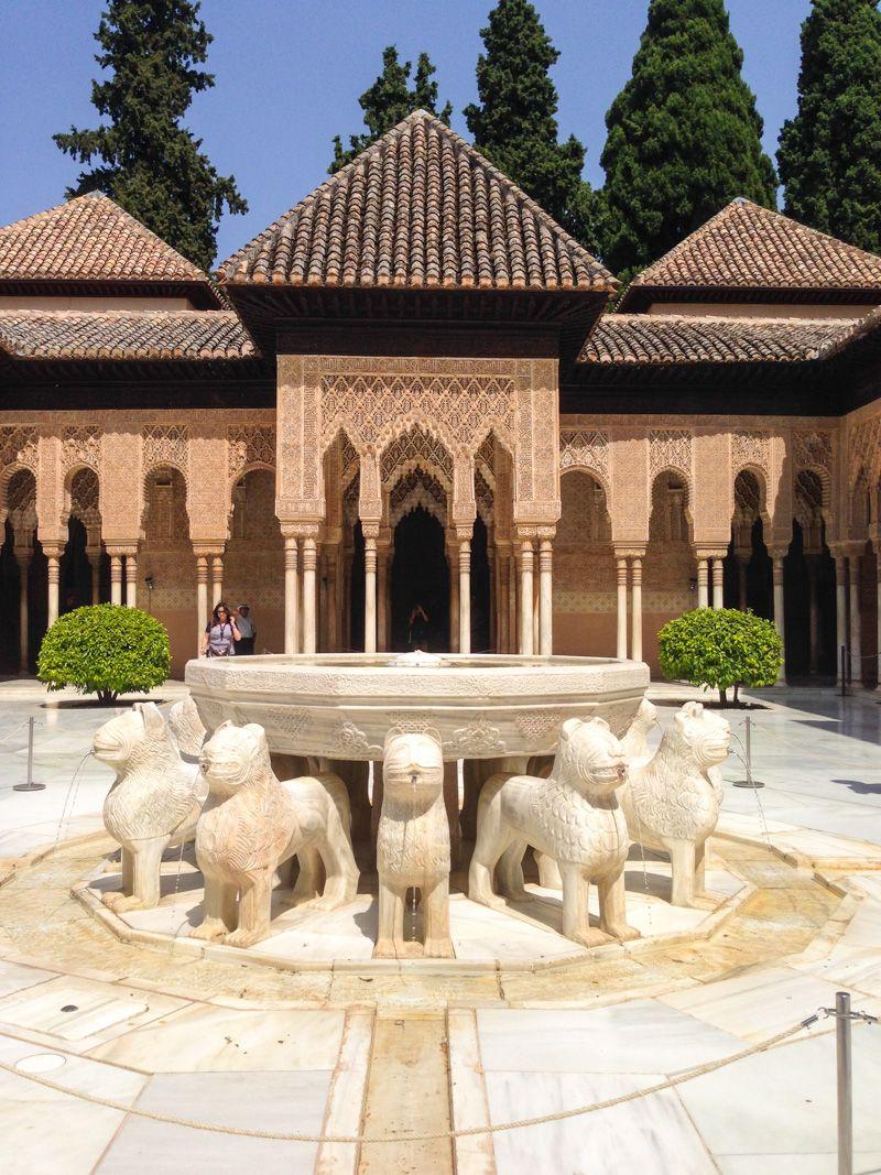 que faire a grenade - palais nasrides - alhambra - libre voyageur