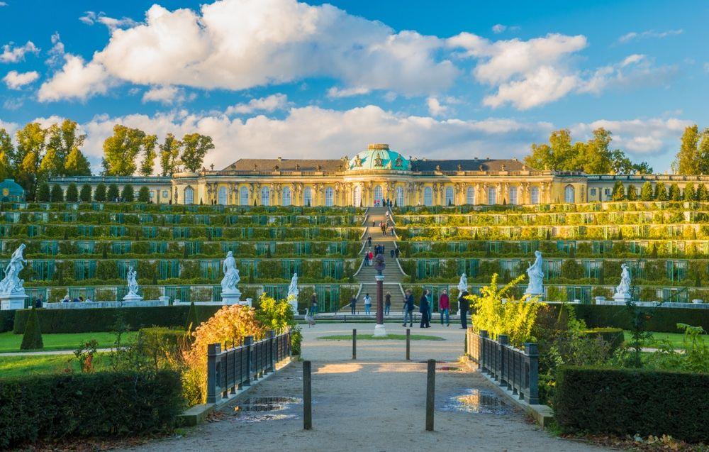 berlin pass - palais de sanssouci