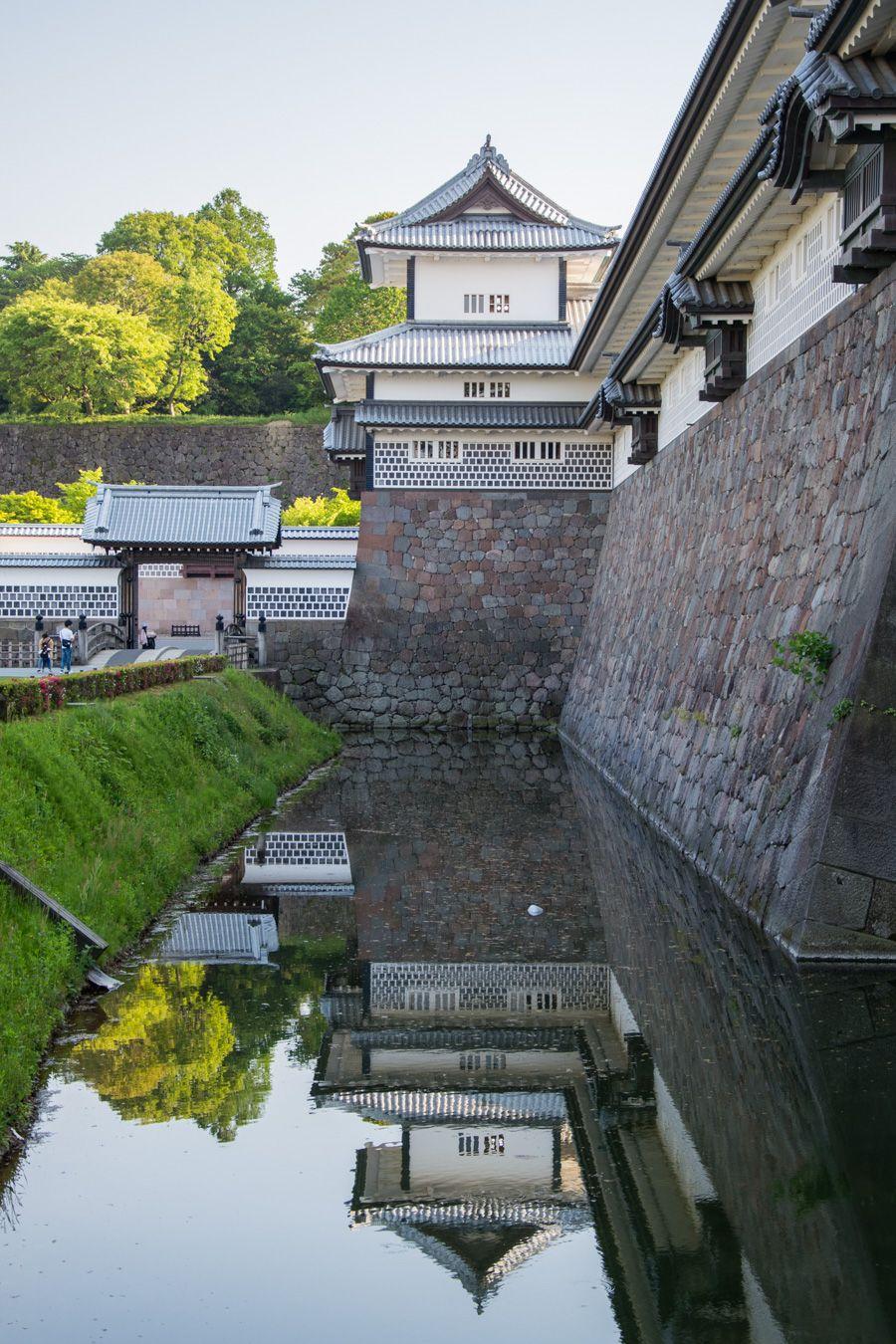 que faire a kanazawa - visiter kanazawa - château - librevoyageur