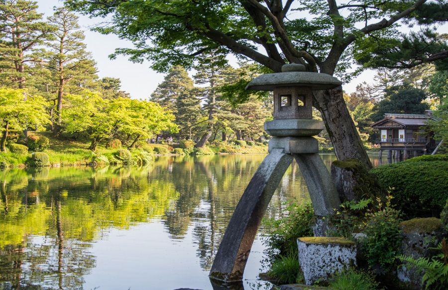 que faire à kanazawa - parc kenrokuen - librevoyageur