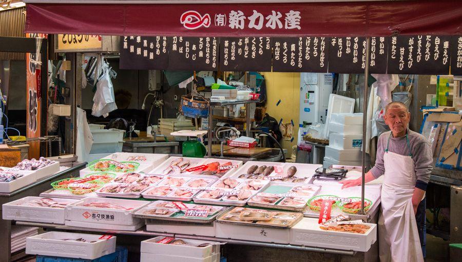que faire à Kanazawa - visiter kanazawa - marché omicho - librevoyageur