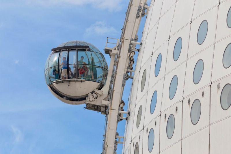 stockholm pass - ericsson globe skyview - librevoyageur