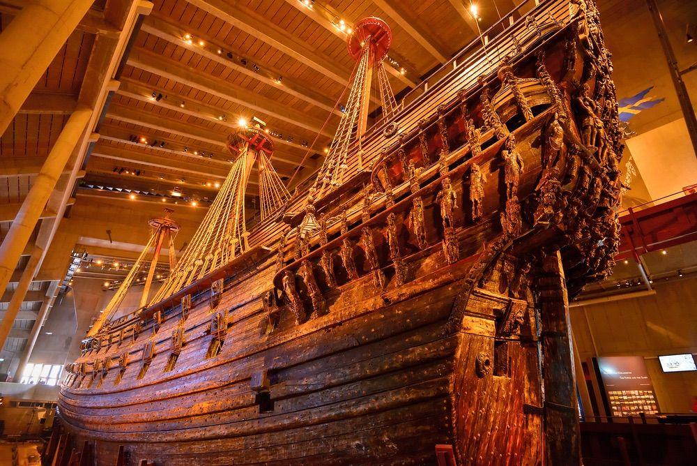 stockholm pass - musée vasa