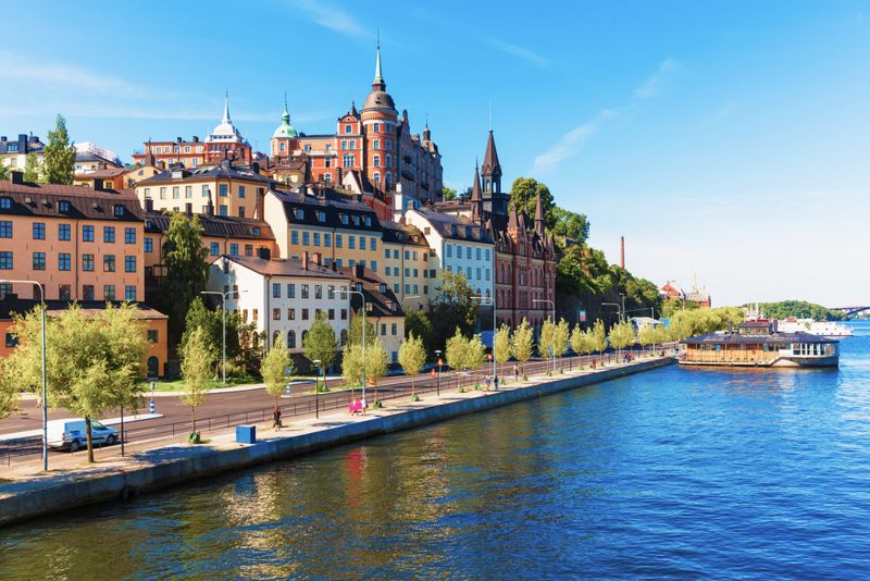 croisiere en bateau à stockholm