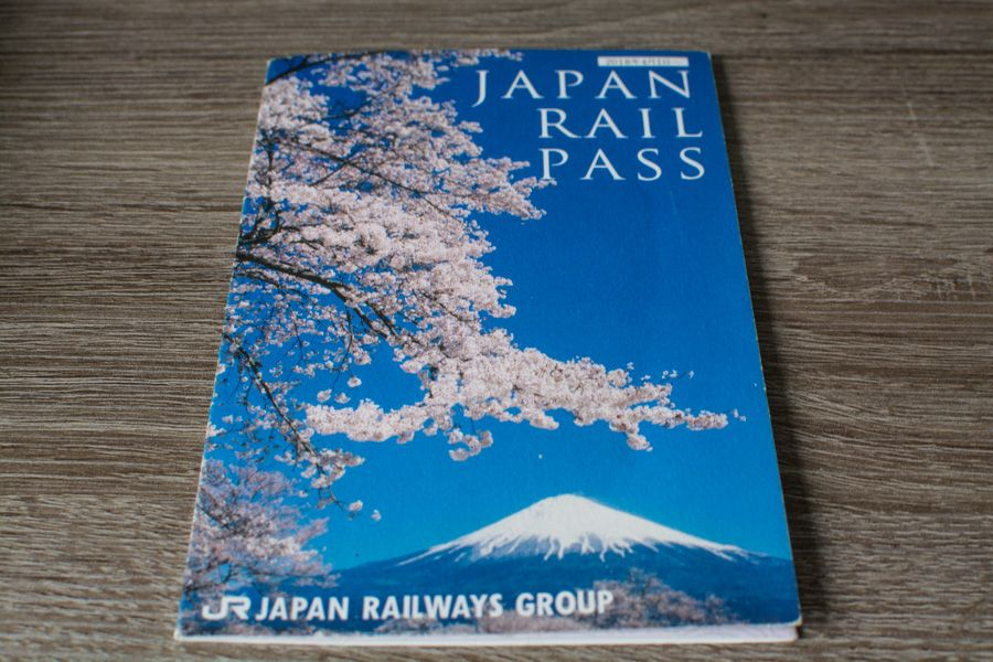 jr pass japon - pass train