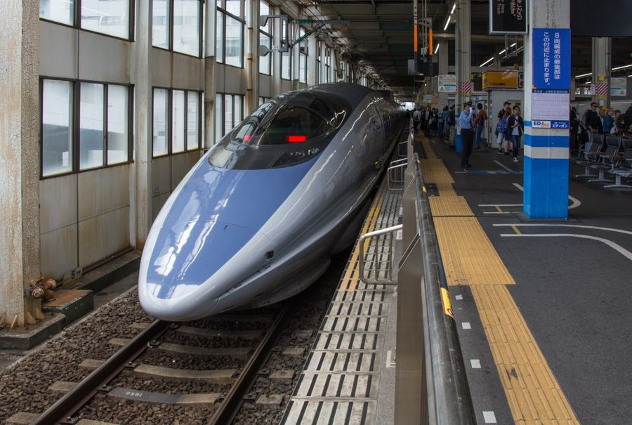 train nippon - shinkansen 500
