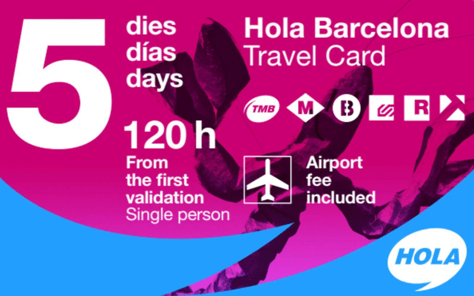 transport barcelone - hola barcelona