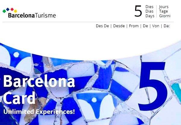 transport barcelone - barcelona card