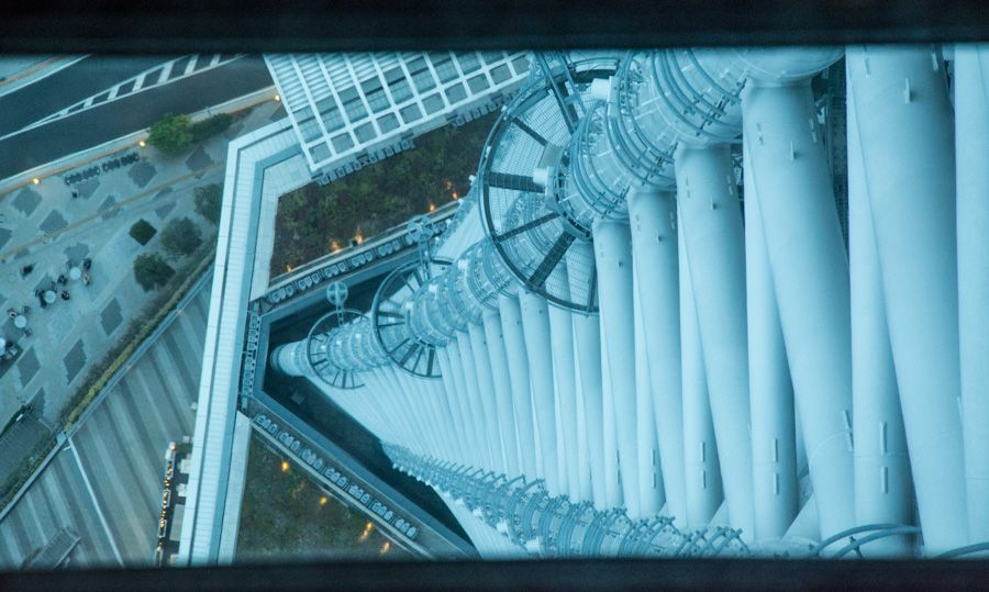 réservation - visite - tokyo skytree - plancher - verre - librevoyageur