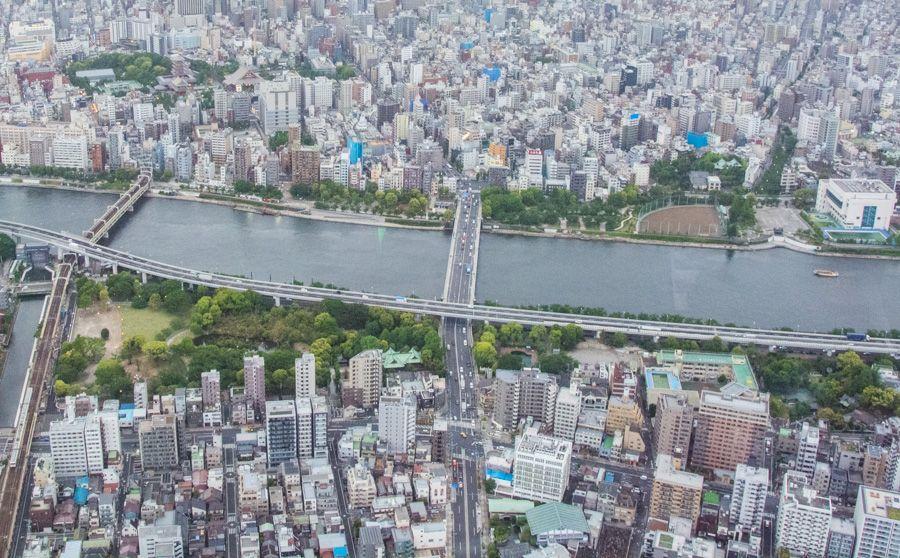 réservation - visite - tokyo skytree - vue tokyo - librevoyageur