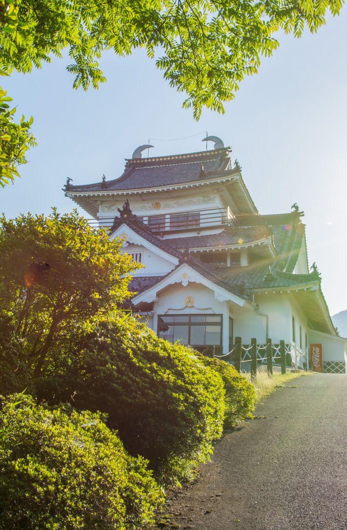 visiter beppu - que voir - chateau Kifune - librevoyageur