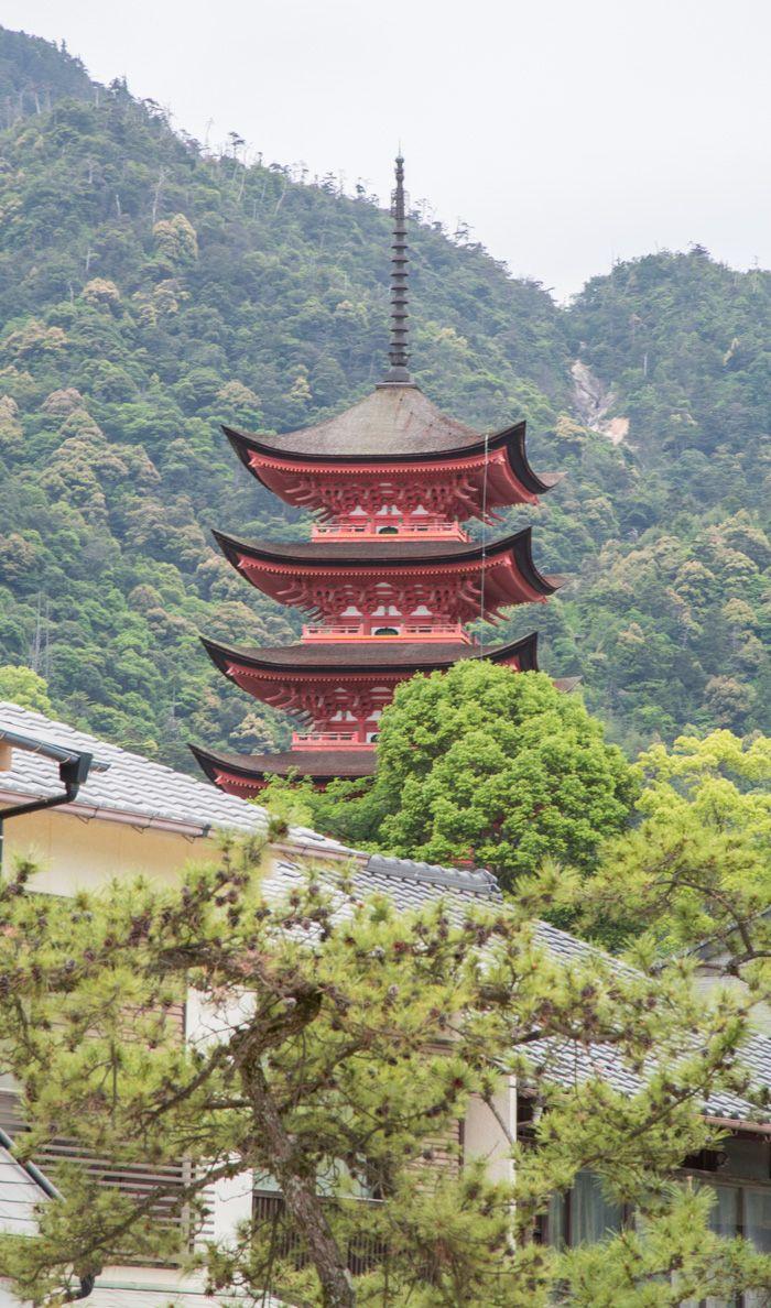 visiter miyajima - pavillon Senjokaku
