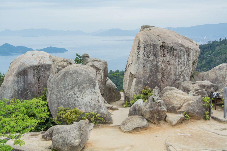 miyajima japon - mont misen