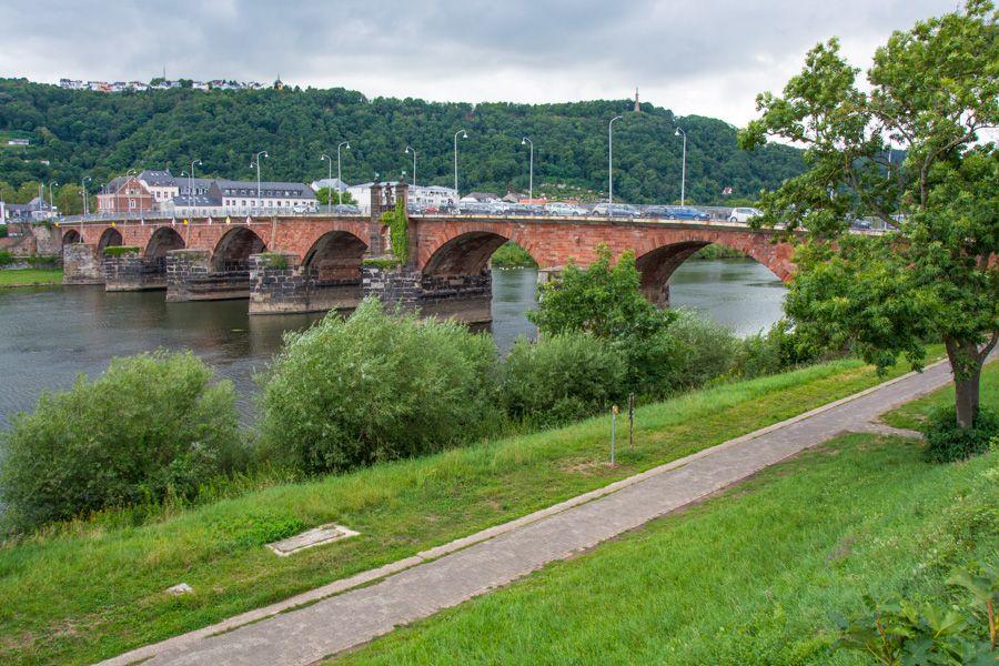 que faire à Trèves - pont romain - Römerbrücke - librevoyageur