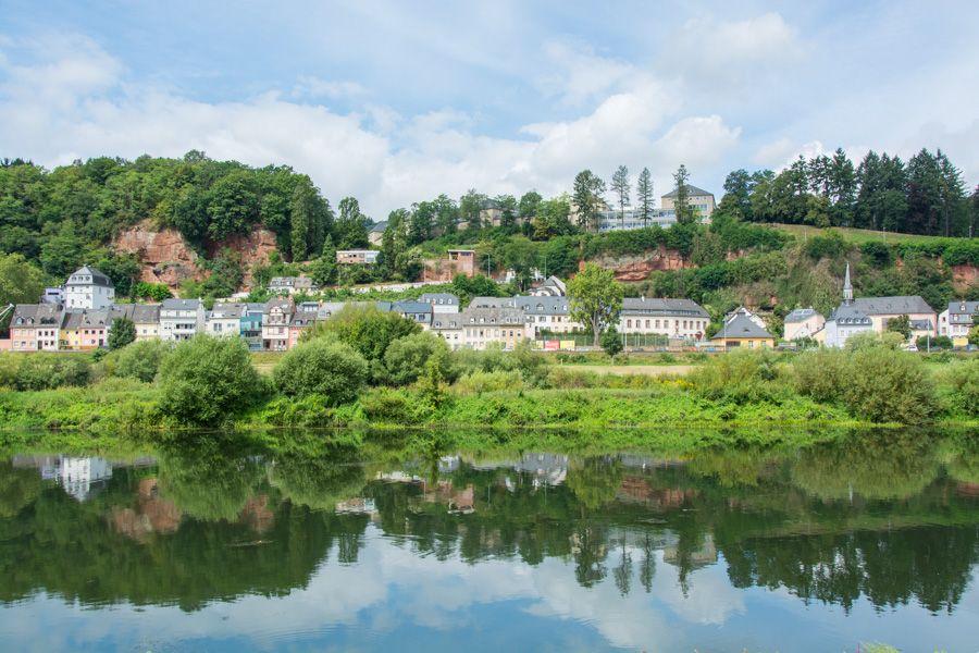 visite trèves allemagne - ou manger - Zurlaubener Ufer